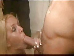 Hot party girl fucked in the bathroom tubes