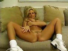 Fantastic POV lap dance with big tits blonde tubes