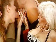Pierced blonde milf pussy is fisted tubes