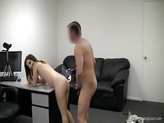 Casting couch suck and fuck with amateur tubes