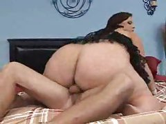 Fat bitch fucked and jiggling hard tubes