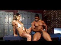 Muscular black guys likes squirting girls tubes