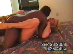 He films his blonde wife with a black guy tubes