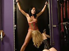 Mature blonde has a slave girl tubes