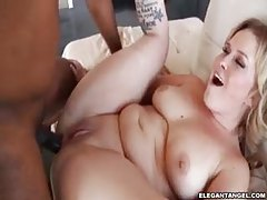 Black guy fucks white chick in the big ass tubes