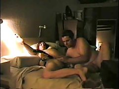 Amateur DP with toy and her man tubes