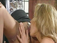 Janet Taylor and a girl eating hot cunt tubes