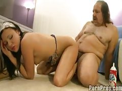 Ron Jeremy fucks a young lady tubes