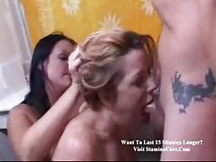 Ramming cock and making her gag tubes