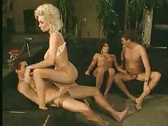 Retro foursome with two very sexy sluts tubes