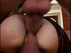 She takes two in her pussy and then two in her ass tubes