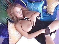 Glorious shaved pussy toys in sexy vid tubes