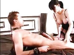 Strapon babe fucks him and he fucks her tubes