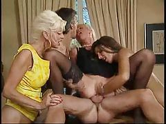 See fisting and fucking and interracial sex tubes