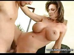 Milf anal sex with arousing pornstar Deauxma tube