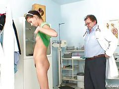 Angela have pussy speculum examined by gyno doctor tubes