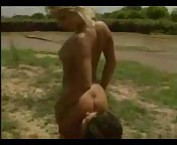 Couple fucking in the middle of an open field tubes