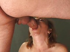 Mature slut shaved and fucked in the ass tubes