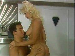 Sensual blonde doing a vintage porn scene tubes