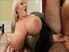 Big cock fucking her pussy and her tits tubes
