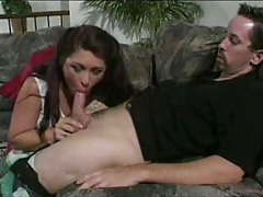 Hard cock starts to bone her ass tubes