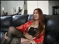 Sultry Asian in silk seduces her man tubes