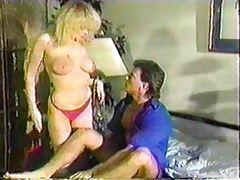 80s porn with a tasty slut enjoying dick tubes