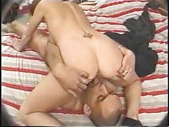 Business beauty craves cock up the pussy tubes