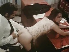 Classic porn group sex in the office tubes