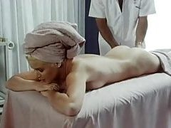 Massage leads to fingering and hot fucking tubes