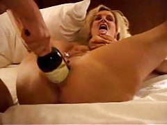 Lesbian threesome with big dildo play tubes