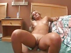 Chick in a POV scene sucking and fucking tubes