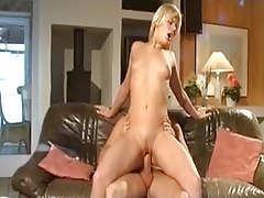 Lusty solo chick interviews and then she fucks tubes