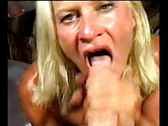 Blonde gobbling cock really well tubes