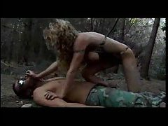 A hot military fuck in the woods tubes