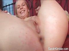 Teenager fingers her slutty hole on camera tubes