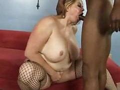 Incredible black cock fucking a fat whore tubes