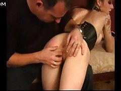 Three spanking clips rolled into one video tubes