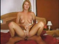 Blonde blows and takes cock from behind tubes