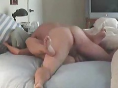 Thrusting into her amateur pussy missionary tubes