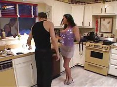 Milf with big tits gives up the asshole tubes