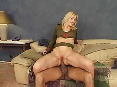 Blonde with large tits fucked in the ass tubes