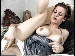 Teen fingers and dildo fucks her hairy cunt tubes