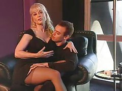 Tasty babe Nina Hartley getting fucked tubes