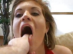 Amazing POV oral from busty lady tubes