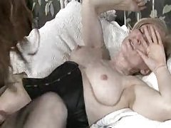 Girl in a sexy dress fucked by milf tubes