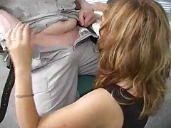 Russian girl is drunk and does a DP tubes