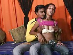 He gets head and makes love to Indian teen tube