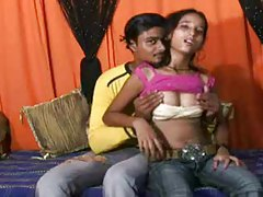 Indian couple trying out anal hardcore tube