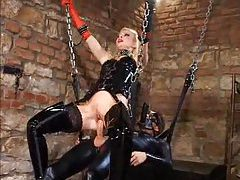 Latex femdom and hardcore sex tubes